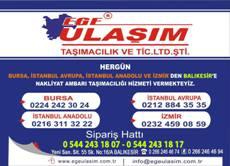 Ege Ulaşım Balıkesir Adres ve Telefon Numaraları.