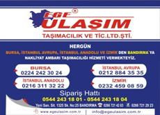 Ege Ulaşım Bandırma Adres ve Telefon Numaraları.